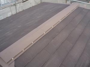 屋根 棟押さえ